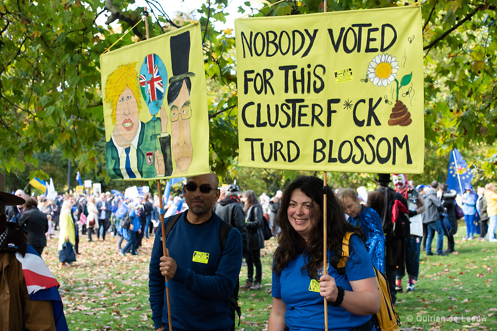 People's Vote March 19th october.  Nobody voted for this clusterF*ck turd blossom