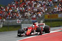 July 9, 2017 - Spielberg, Austria - Motorsports: FIA Formula One World Championship 2017, Grand Prix of Austria, .#5 Sebastian Vettel (GER, Scuderia Ferrari) (Credit Image: © Hoch Zwei via ZUMA Wire)