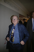 Lord MCAlpine, Private Preview of the Grosvenor House Art and Antiques Fair. 13 June 2007.  -DO NOT ARCHIVE-© Copyright Photograph by Dafydd Jones. 248 Clapham Rd. London SW9 0PZ. Tel 0207 820 0771. www.dafjones.com.