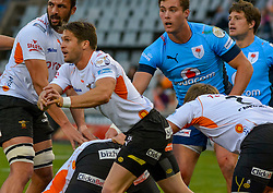 Tian Meyer of the Free State Cheetahs during the Currie Cup 1st division match between the The Free State Cheetahs and the Blue Bulls held at Toyota Stadium (Free State Stadium), Bloemfontein, South Africa on the 13th August 2016<br /> <br /> Photo by:   Frikkie Kapp / Real Time Images