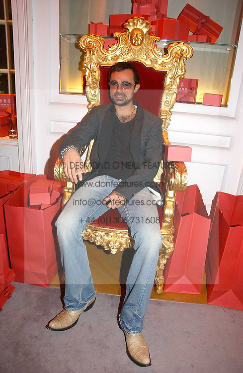 EVGENY LEBEDEV at Garrard's Winter Wonderland party held at their store 24 Albermarle Street, London W1 on 30th November 2006.<br /><br /><br />NON EXCLUSIVE - WORLD RIGHTS