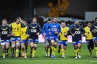 Equipe Clermont - 28.12.2014 - Lyon Olympique / Clermont - 14eme journee de Top 14 <br />Photo : Jean Paul Thomas / Icon Sport