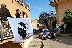April 7, 2018 - Corse, France - CORSICA Linea - TOUR DE CORSE 2018 Elfyn EVANS, Daniel BARRITT FORD FIESTA WRC (Credit Image: © Panoramic via ZUMA Press)