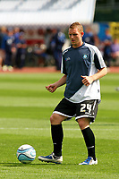 Football<br /> Coca Cola Football League One<br /> Brighton and Hove Albion vs Wycombe Wanderers at The Withdean Stadium, Brighton<br /> Wycombe's Stuart Beavon<br /> 05/09/2009<br /> Credit Colorsport / Shaun Boggust