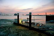 Fast Ferry platform Pistoolhaven at Europoort, Port of Rotterdam.