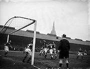 15/2/1953<br /> 2/15/1953<br /> 15 February 1953<br /> Soccer football Bohemians v Limerick, Dalymount Park, Phibsborough, Dublin.