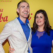 NLD/Hilversum/20190211- Verliefd op Cuba premiere, Johan Nijenhuis en partner Petra