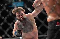 March 16, 2019 - London, United Kingdom - Jack Marshman beats John Phillips by split decision during UFC Fight Night 147 at the London O2 Arena, Greenwich on Saturday 16th March 2019. (Credit Image: © Mi News/NurPhoto via ZUMA Press)