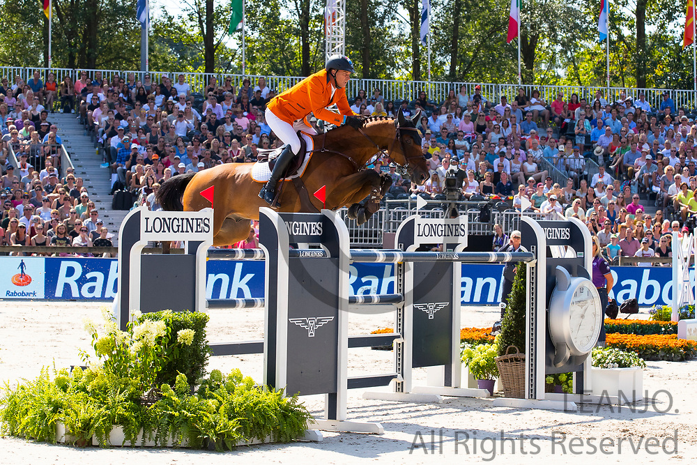 Marc Houtzager - Sterrehof's Calimero<br /> FEI European Championships 2019<br /> © DigiShots