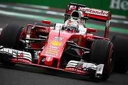 Sebastian Vettel (GER) Ferrari SF16-H.<br /> 28.10.2016. Formula 1 World Championship, Rd 19, Mexican Grand Prix, Mexico City, Mexico, Practice Day.<br /> Copyright: Batchelor / XPB Images / action press