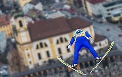02.01.2016, Bergisel Schanze, Innsbruck, AUT, FIS Weltcup Ski Sprung, Vierschanzentournee, Training, im Bild Michael Hayboeck (AUT) // Michael Hayboeck of Austria during his Practice Jump for the Four Hills Tournament of FIS Ski Jumping World Cup at the Bergisel Schanze, Innsbruck, Austria on 2016/01/02. EXPA Pictures © 2016, PhotoCredit: EXPA/ Jakob Gruber during his Practice Jump for the Four Hills Tournament of FIS Ski Jumping World Cup at the Bergisel Schanze, Innsbruck, Austria on 2016/01/02. EXPA Pictures © 2016, PhotoCredit: EXPA/ Jakob Gruber