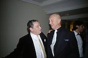 Norman Rosenthall and Georg Baselitz, Georg Baselitz, Royal Academy. 18 September 2007. -DO NOT ARCHIVE-© Copyright Photograph by Dafydd Jones. 248 Clapham Rd. London SW9 0PZ. Tel 0207 820 0771. www.dafjones.com.