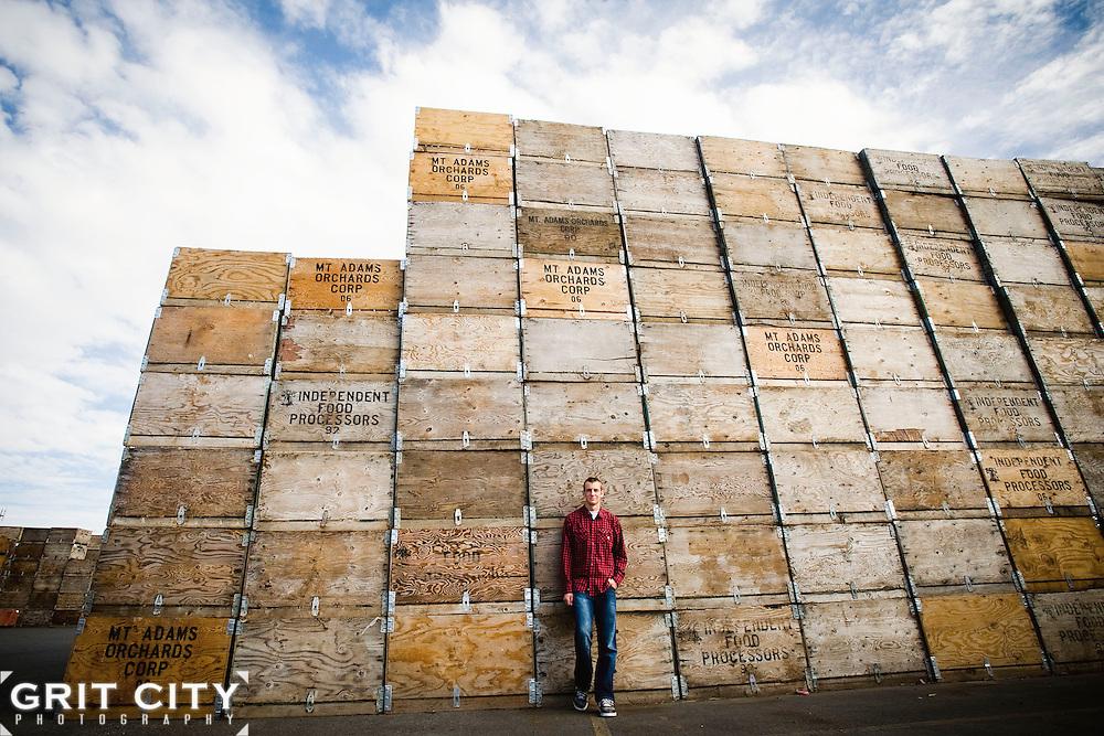 Tacoma senior photographer | Grit City Photography