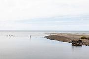 NOUVELLE CALEDONIE, Aout 2013 - La cote est dans la région de Hienghene.