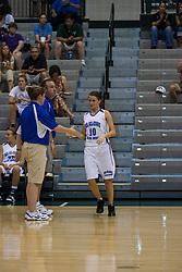20 June 2009: Lauren Kellar.  Illinois Basketball Coaches Association 1A-2A Girls All Star game.