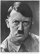 Adolph Hitler (1889-1945) German dictator c1930