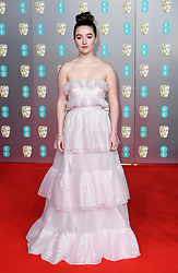 Kaitlyn Dever attending the 73rd British Academy Film Awards held at the Royal Albert Hall, London. Photo credit should read: Doug Peters/EMPICS Entertainment