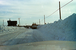 1976-1977 winter at Heyworth Illinois & Vicinity.<br /> Rt. 51 between Kickapoo Creek and Country Lanes Trailer park.<br /> <br /> Archive slide, negative and print scans.