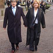 Mattheus Passion 2004 Naarden, Gerlach Cerfontaine en vrouw Pia Dijkstra