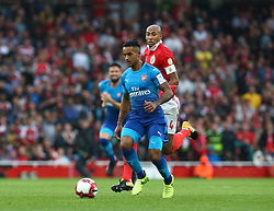 July 29, 2017 - London, United Kingdom - Arsenal's Theo Walcott.during Emirates Cup match between RB Arsenal against Benfica  at Emirates Stadium on 29 July 2017  (Credit Image: © Kieran Galvin/NurPhoto via ZUMA Press)