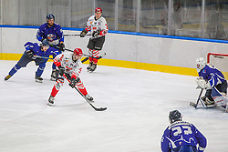 84# Hebar Andrej of HDD SIJ Acroni Jesenice during the final match of Slovenia Cup 2020/21 between HDD SIJ Acroni Jesenice and HKMK Bled, on 19.09.2020 in Ljubljana, Slovenia. Photo by Urban Meglič / Sportida