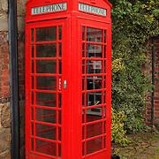 Red Telephone Booth - Avebury, UK