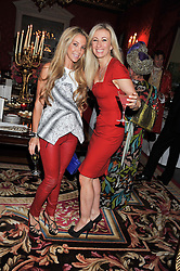 Left to right, BIANCA LADLOW and JENNY HALPERN-PRINCE at Tatler's Jubilee Party in association with Thomas Pink held at The Ritz, Piccadilly, London on 2nd May 2012.