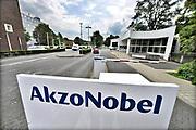 Nederland, Arnhem, 26-7-2017Gebouwen van de vestiging van akzo-nobel. In Arnhem is ook de Central services Units afdeling van het bedrijf gevestigd. Tot 2008 was hier het hoofdkantoor van de multi-national.Foto: Flip Franssen