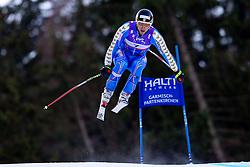 10.02.2011, Kandahar, Garmisch Partenkirchen, GER, FIS Alpin Ski WM 2011, GAP, Herren Abfahrtstraining, im Bild Hans Olsson (SWE) takes to the air competing in the first men's downhill training run on the Kandahar race piste at the 2011 Alpine skiing World Championships, EXPA Pictures © 2011, PhotoCredit: EXPA/ M. Gunn