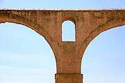 Roman Aqueduct, Pitigliano, Tuscany, Italy