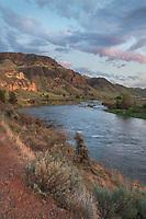 John Day River near Clarno Oregon