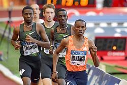 July 20, 2018 - Monaco, France - 1000 metres homme - Thiago Do Rosario Andre (Bresil) - Solomon Lekuta (Kenya) -George Meitamei Manangoi  (Credit Image: © Panoramic via ZUMA Press)