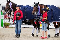 Thiemann Carmen, GER, Horseware Hale Bob, GER, FRH Corrida <br /> European Championship Eventing<br /> Luhmuhlen 2019<br /> © Hippo Foto - Stefan Lafrentz<br /> 01/09/2019