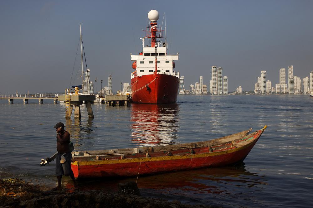 12-19/Junio/2011 Colombia. Cartagena de Indias.Escala del BIO Hespérides en Cartagena de Indias..© JOAN COSTA
