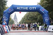 Marathon: Haspa Hamburg 2021, Hamburg, 12.09.2021<br /> Feature, Start, Active City<br /> © Torsten Helmke
