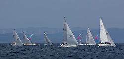 Sailing - SCOTLAND  - 27th May 2018<br /> <br /> 3rd days racing the Scottish Series 2018, organised by the  Clyde Cruising Club, with racing on Loch Fyne from 25th-28th May 2018<br /> <br /> GBR4607, Leaky Roof II, Harper/Robertson, CCC/Cove SC<br /> <br /> Credit : Marc Turner<br /> <br /> Event is supported by Helly Hansen, Luddon, Silvers Marine, Tunnocks, Hempel and Argyll & Bute Council along with Bowmore, The Botanist and The Botanist