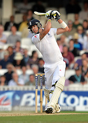 © Licensed to London News Pictures. 25/08/2013. London, UK Investec 5th Ashes Test, The Kia Oval, 5th day, 25/08/2013 Kevin Pietersen, England.Photo credit : Mike King/LNP