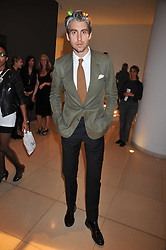 GEORGE LAMB at the St.Martins Lane Hotel 10th year bash held on 9th September 2009.