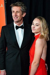 18-12-2019 NED: Sports gala NOC * NSF 2019, Amsterdam<br /> The traditional NOC NSF Sports Gala takes place in the AFAS in Amsterdam / Edwin van der Sar met dochter Jill