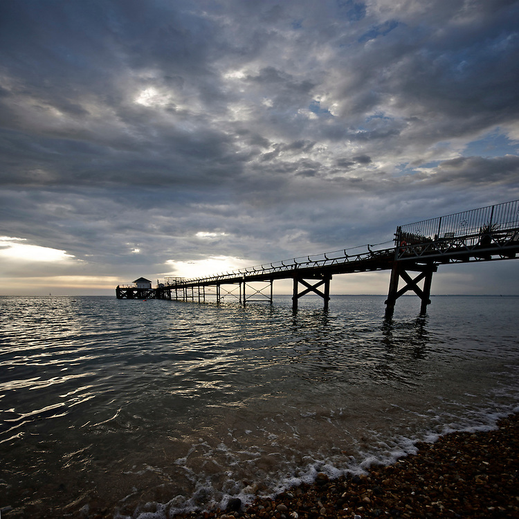 Evening light at Totland Bay, Isle of Wight