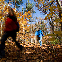 A couple hikes on an old woods road near Page Brook and Lake Winnipesauke in Meredith, New Hampshire.