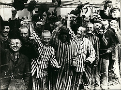 1941 - Jewish people at Auschwitz. Auschwitz concentration camp was a network of German Nazi concentration camps and extermination camps built and operated by the Third Reich in Polish areas annexed by Nazi Germany during World War II. It consisted of Auschwitz I (the original camp), Auschwitz IIÐBirkenau (a combination concentration/extermination camp), Auschwitz IIIÐMonowitz (a labor camp to staff an IG Farben factory), and 45 satellite camps. (Credit Image: © Keystone Pictures USA/ZUMAPRESS.com)