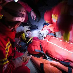 2011/10 Manoeuvre de secours en décombre de SSF