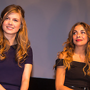 NLD/Amsterdam/20130911 - Trailerpremiere Mannenharten, katja Herbers en Georgina Verbaan
