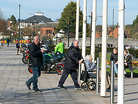 stratford upon avon People out and about despite the serious warning to stay at home to beat deadly coronavirus.