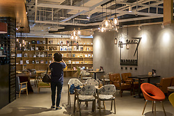 June 21, 2017 - Shanghai, Shanghai, China - Shanghai, CHINA-June 21 2017: (EDITORIAL USE ONLY. CHINA OUT)..The Jing'an District Culture Center opens in Shanghai, combing western elements and Chinese traditional culture. (Credit Image: © SIPA Asia via ZUMA Wire)