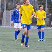 NLD/Blaricum/20120314 - Perspresentatie Koen Kampioen met als gastrol Luca Borsato, actiefoto Luca Borsato
