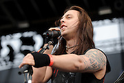 Photos of Welsh metal band Bullet For My Valentine performing at The Bamboozle on May 1, 2010 in East Rutherford, New Jersey.