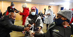 SOUTH AFRICA - Cape Town - 01 September 2020  - Nurses and members of NEHAWU gathered at the Khayelitsha District Hospital to commemorate frontline members who succumbed to Covid-19 virus.The virus has killed millions around the world and still uncurable. Picture: Phando Jikelo/African News Agency(ANA)