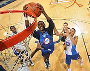 DeAndre Daniels at the NBPA Top100 camp at the John Paul Jones Arena Charlottesville, VA. Visit www.nbpatop100.blogspot.com for more photos. (Photo © Andrew Shurtleff)